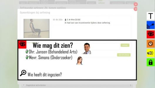 Privacy transparency tools give more trust in eHealth
