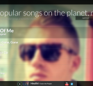Streamwatchr, monitoring Twitter to find out to which music people are listening. Streamwatchr offers real-time insights into music listening behaviour around the world (video at the end of the page)
